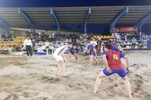 آغاز مسابقات کبدی ساحلی باشگاهها و دستجات آزاد کشور