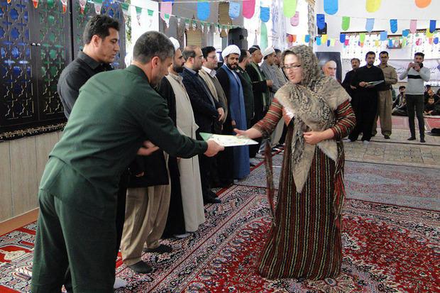 پنجمین همایش سیمای انقلاب زن روستا در زرینه برگزار شد