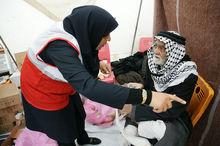 هلال احمر فارس ۱۰۰ نیروی امدادی به مراسم پیادهروی اربعین اعزام میکند