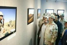 نمایشگاه عکس با موضوع حراست از مرزها در مشهد افتتاح شد