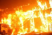 آتش سوزی در چیتگر تهران مصدومی نداشت