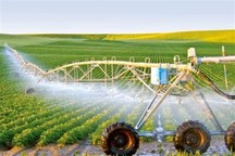 ۲۴۰۰ هکتار از اراضی کشاورزی شهرستان مهران به سیستم آبیاری نوین تجهیز میشود
