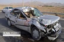 تصادف مرگبار در همدان با ٨ کشته و مصدوم