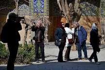 علاقه مندی رسانه های خارجی به تهیه گزارش از مکان های تاریخی اصفهان