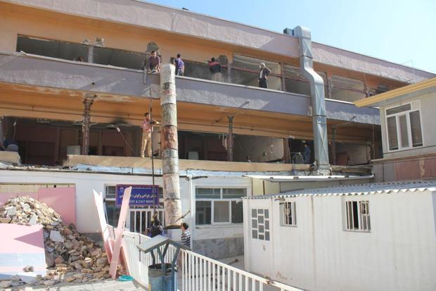 بهسازی بیمارستان امام خمینی کرمانشاه 75 درصد پیشرفت دارد
