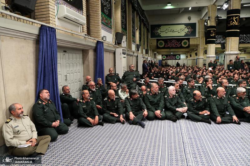 دیدار مجمع عالی فرماندهان سپاه با فرمانده معظم کل قوا