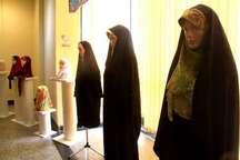 نمایشگاه پوشاک اسلامی در همدان گشایش یافت