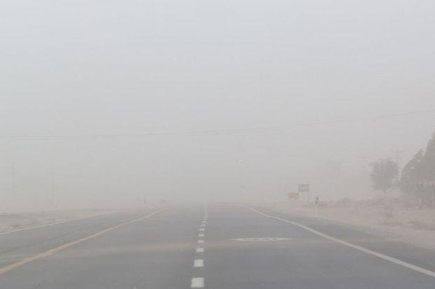 توفان شن مناطق شرق استان کرمان را فرا میگیرد