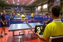 آغاز مسابقات سراسری تنیس روی میز صنایع کوچک در قزوین
