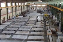 400 هزار متر مربع سنگ نما از محلات صادر شد
