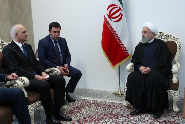تکمیل ریل تا آستارا، از همکاری های ارزشمند ایران و آذربایجان است