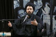 سید علی خمینی: رییس جمهور آمریکا مانند کودکى است که از فرط عجز  به جیغ و داد روى آورده است