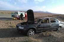 حادثه رانندگی در جاده سبزوار - شاهرود چهار مصدوم برجای گذاشت