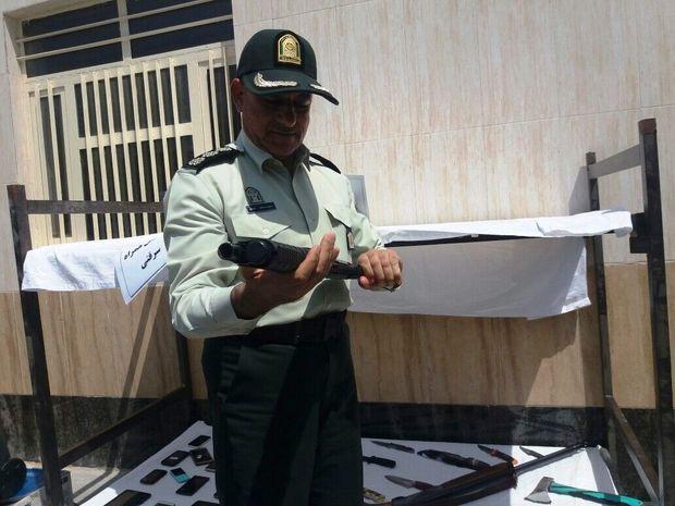 سارقان مسلح کابل تغییر مسیر ریل راه آهن بندرعباس دستگیر شدند