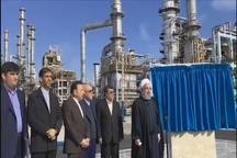 افتتاح رسمی فاز سوم پالایشگاه ستاره خلیج فارس با حضور رئیسجمهور