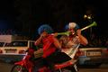 مردم گلستان بُرد تیم ملی فوتبال در جام جهانی را جشن گرفتند