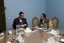 دیدار گلمرادی با دریادار شمخانی دبیر شورای عالی امنیت ملی