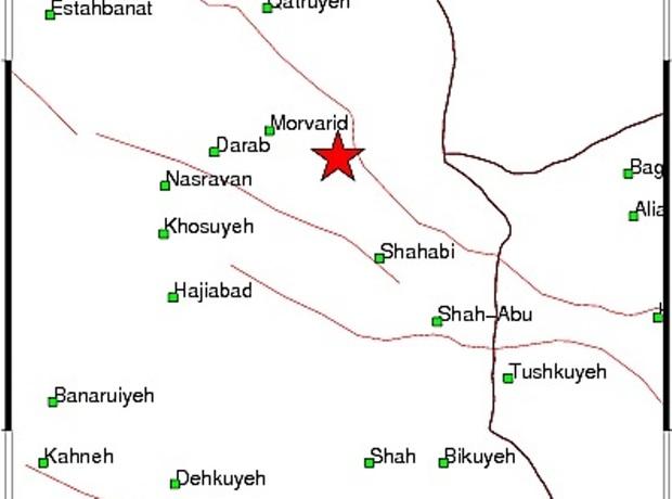 زلزله جنت شهر داراب را لرزاند