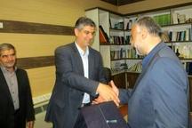 مدیرکل شهری و امور شوراهای استانداری مرکزی منصوب شد