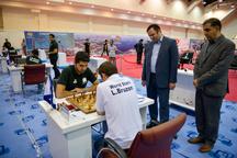 توقف تیم شطرنج منتخبان جهان مقابل منتخبان ایران