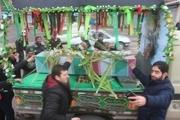 خلخال میزبان شهید گمنام شد