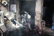 سه حادثه آتش سوزی منزل ناشی از مواد محترقه در زنجان مهار شد