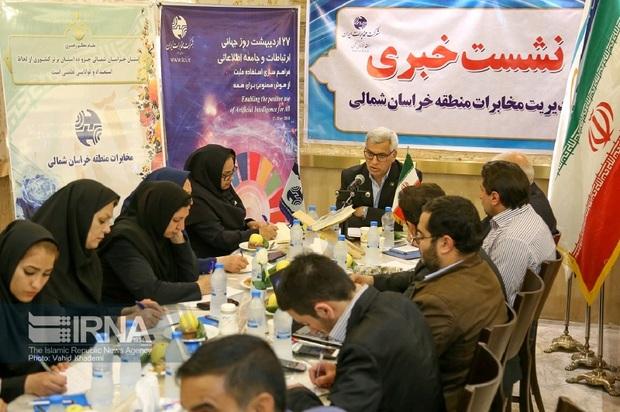 350 پروژه مخابراتی خراسان شمالی بزودی افتتاح می شود