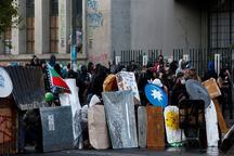 پارلمان شیلی در برابر معترضان عقب نشینی کرد