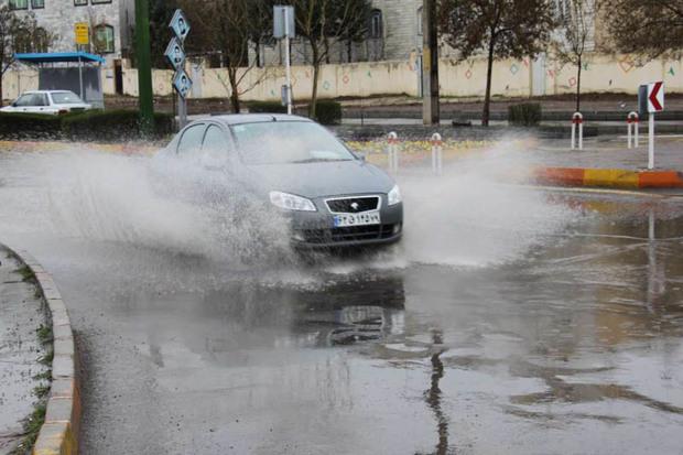 تداوم فعالیت سامانه بارشی در قزوین