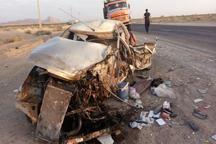حادثه رانندگی در شهرستان خاتم ، یک کشته و 2 زخمی بر جا گذاشت