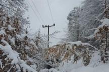 برق 10 روستای کوهستانی بهشهر همچنان قطع است