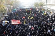 راهپیمایی اربعین نمادی از اقتدار ایران است