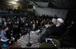مراسم عزاداری شب بیست و هشتم صفر در محضر استاد امجد