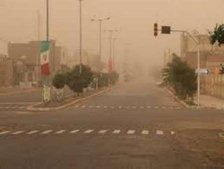 روند گرد و غبار در خوزستان رو به کاهش است