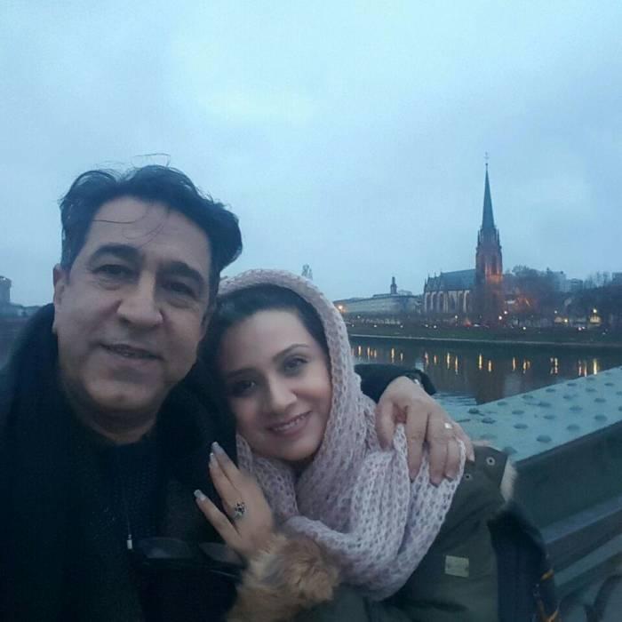 مجید اوجی و همسرش