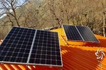 توزیع پنل خورشیدی بین دامداران عشایر آمل