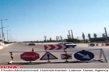 ترافیک  نیمه سنگین در محور هراز کوه و فیروزکوه  امروز عصر هراز یک طرفه می شود