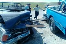 تصادف در جاده دهدشت -سوق 3 مصدوم داشت