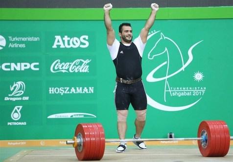 قهرمان وزنه برداری ایران به آلمان رفت