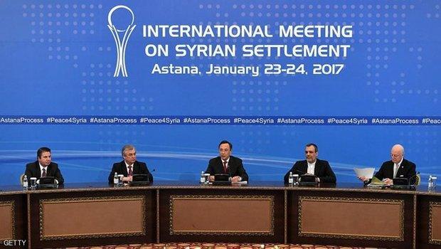 امضای سند «ایجاد مناطق کاهش تنش در سوریه» در نشست پایانی آستانه چهار