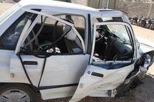 حادثه رانندگی در جاده کرج - چالوس سه مصدوم برجای گذاشت