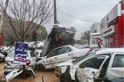 فرماندار: 300 خودروی آسیب دیده در سیل شیراز خسارت گرفتند