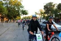 همایش سه شنبه های بدون خودرو در قزوین برگزار شد