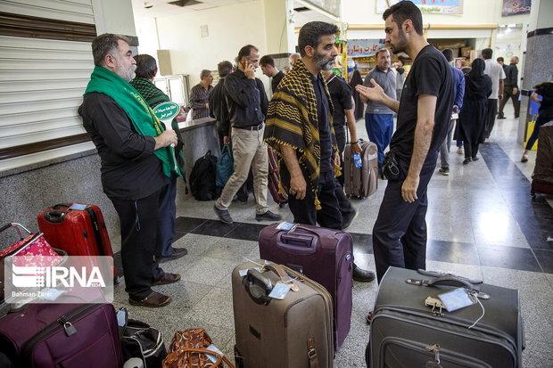 روزانه ۲۰ هزار نفر از پایانه مرزی مهران تردد میکنند