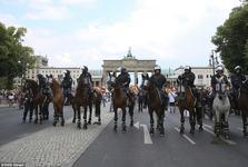 برلین امنیتی شد+ تصاویر