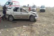واژگونی خودرو در جاده سبزوار- نیشابور 6 مصدوم برجای گذاشت