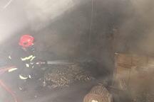 آتش سوزی کارخانه شیرآلات در پاکدشت مهار شد