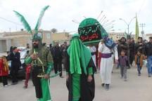 روستای توت اردکان در انتظار عزاداران حسینی از سراسر کشور است
