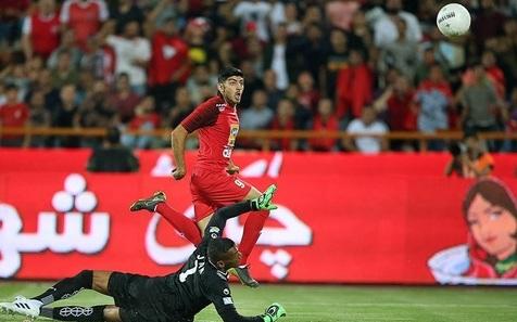 برد یک نیمه ای پرسپولیس مقابل فولاد خوزستان