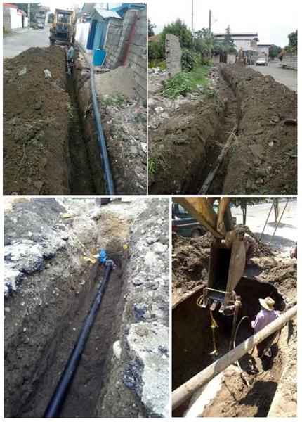 بهرهبرداری از 2900 متر شبکه آبرسانی در رودسر